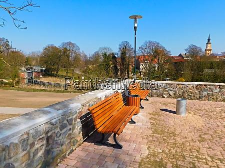 panorama der historischen altstadt aus dem