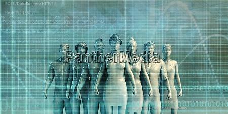 futuristische technologie hintergrund