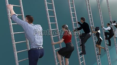 climbing, the, corporate, ladder - 28884330