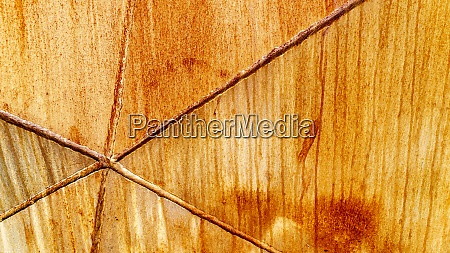 rustikaler hintergrund mit schweissnaehten