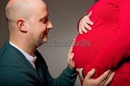 schwangeres paar