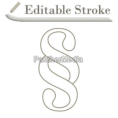 absatzsymbol symbol