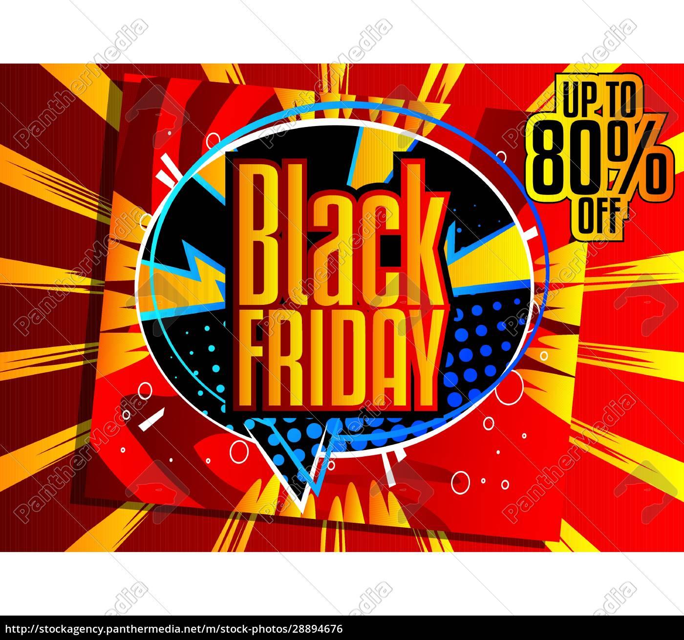 comic-buch, black, friday, verkauf, plakat - 28894676