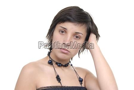 girl child or girl teenager or