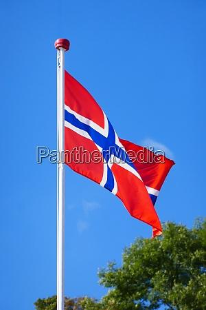 norwegische nationalflagge