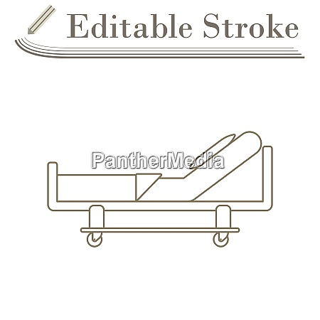 krankenhaus bett icon