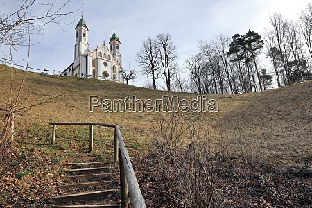 heilig kreuz kirche am kalvarienberg bei