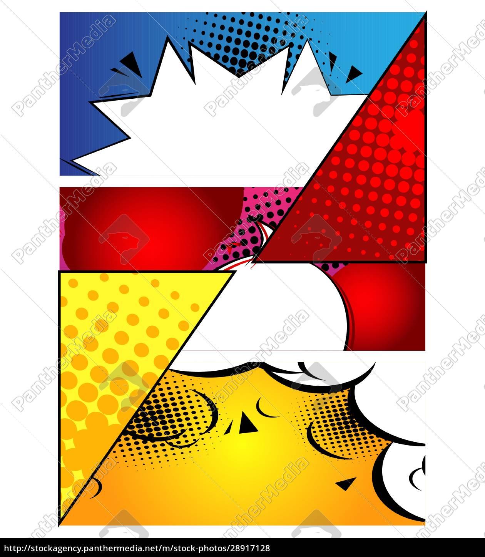 comic-buch-design-hintergrund., cartoon-illustration. - 28917128