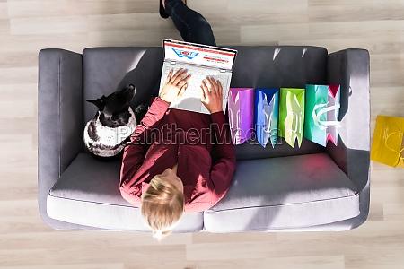 e commerce online shopping auf dem