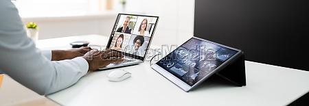 online video konferenz learning webinar meeting