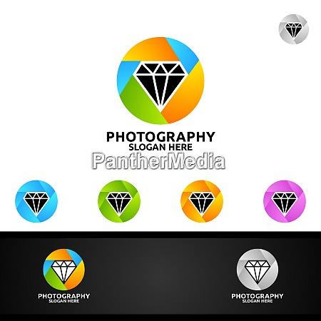 diamant kamera fotografie logo