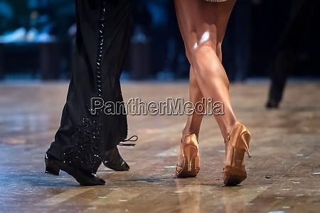 paar tanzen latin dance