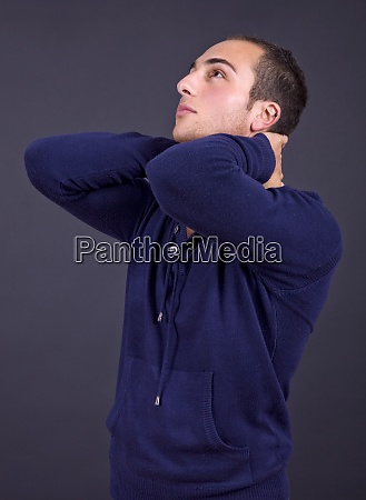 mann portraet
