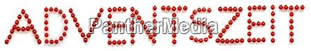 rote weihnachten ball ornament gebaeude deutsche