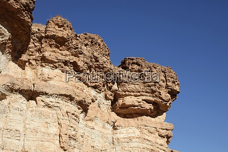 sandsteinfelsen atlasberg tunesien