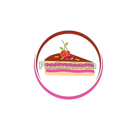 kuchen logo vektor ilustration