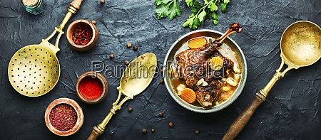 diaet gaensesuppe