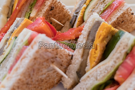 vegetarische sandwiches