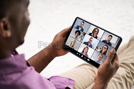 webinar fuer die online videokonferenz