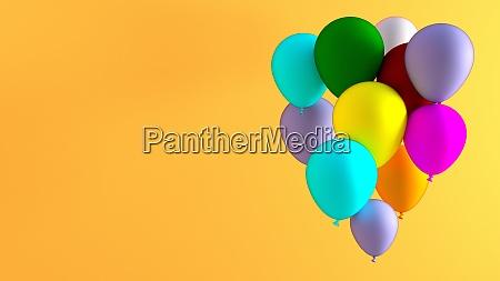 kreative ballon abstrakt