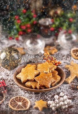 traditionelles weihnachtsbacken
