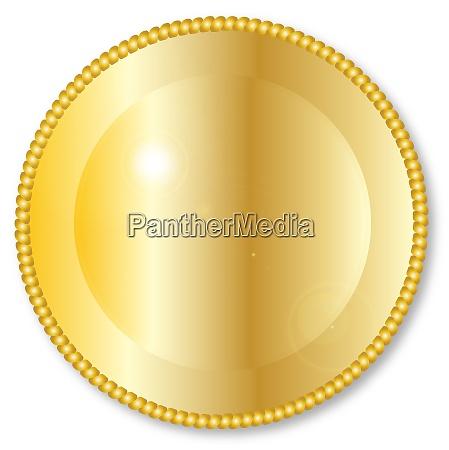 runde golden erdhintergrund