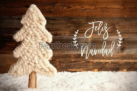 stoff weihnachtsbaum schnee feliz navidad bedeutet