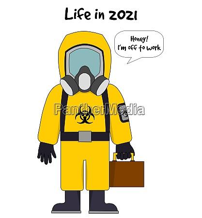 im jahr 2021 an die arbeit