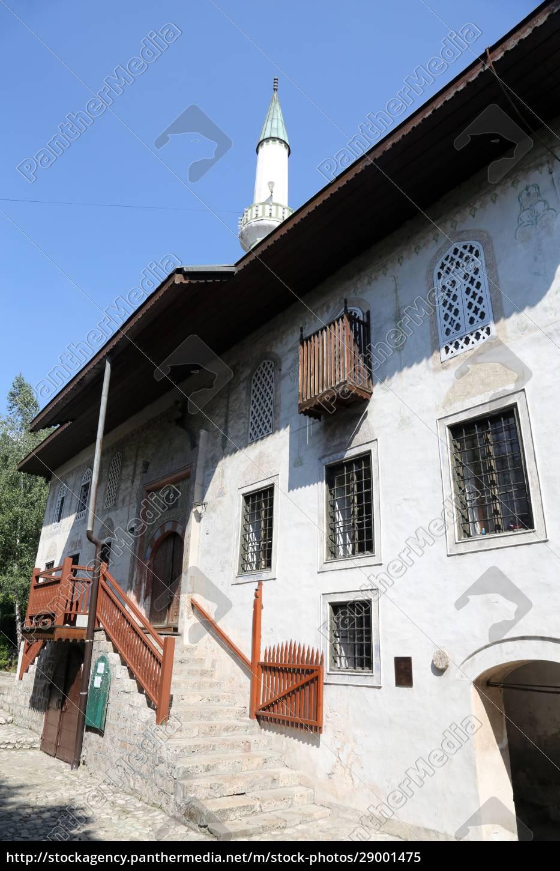 hajji, alibeg, mosque, in, travnik, , bosnia - 29001475