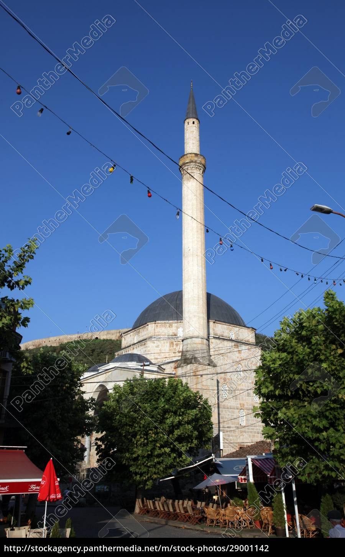 sinan-pascha-moschee, prizren, kosovo - 29001142