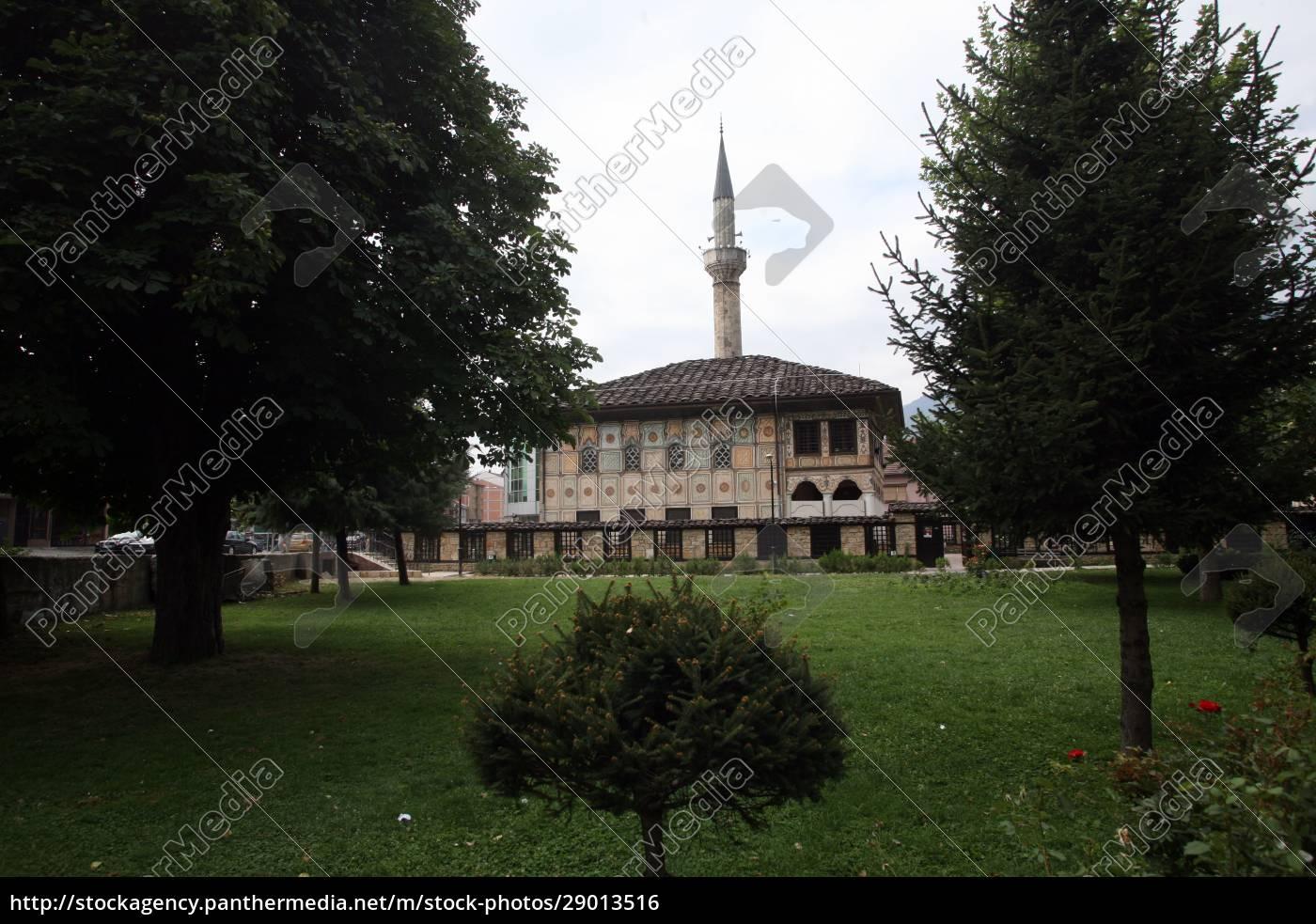 aladza, gemalt, moschee, tetovo, mazedonien - 29013516
