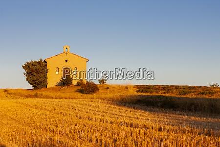 kapelle mit lavendelfeld plateau de valensole