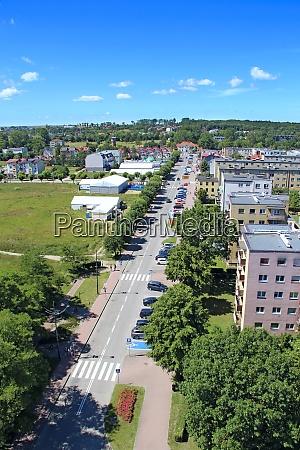 panorama, der, stadt, wladislawowo, von, oben - 29018469