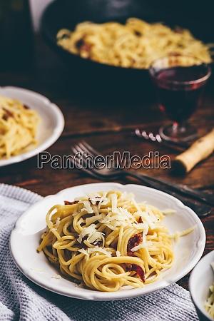 klassische spaghetti carbonara