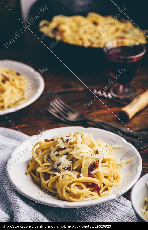 klassische, spaghetti, carbonara - 29020323