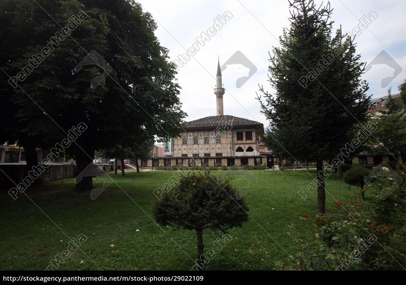 aladza, gemalt, moschee, tetovo, mazedonien - 29022109