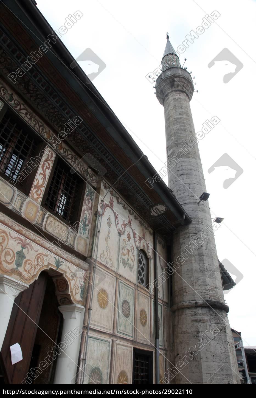 aladza, gemalt, moschee, tetovo, mazedonien - 29022110