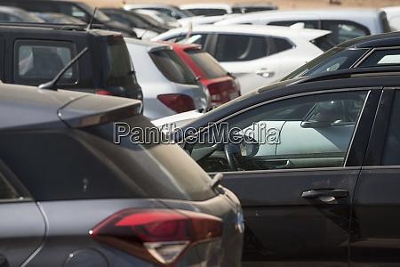 parkplatz fuer die autos