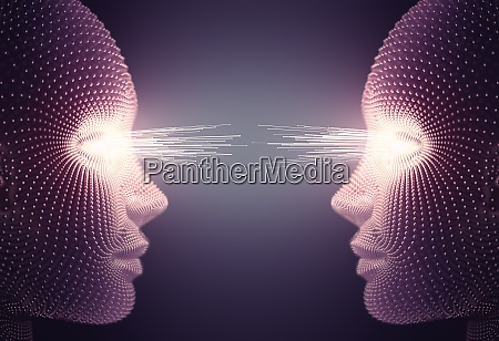 eye communication network verbindung