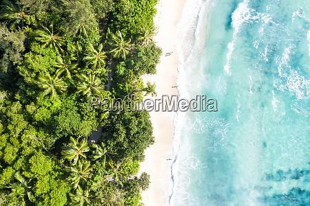 seychellen takamaka strand meer wellen urlaub