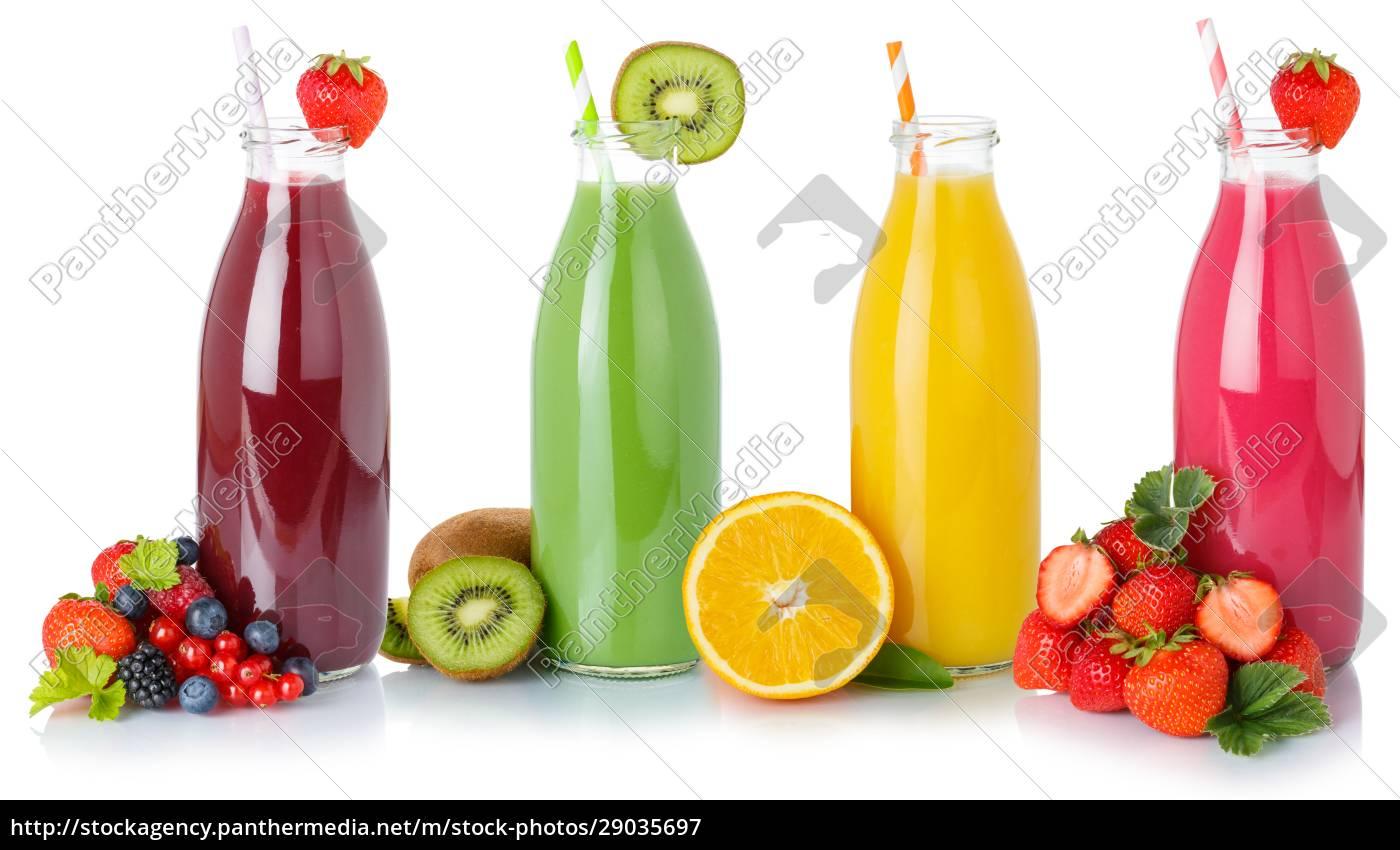 fruchtsaftsäfte, trinken, getränke, getränkeflaschen, isoliert, auf - 29035697