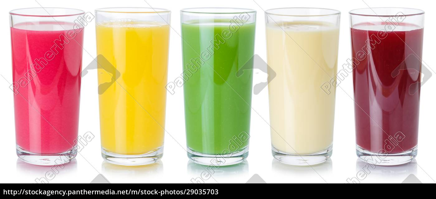 sammlung, von, fruchtsaft-getränken, trinken, getränke, in - 29035703