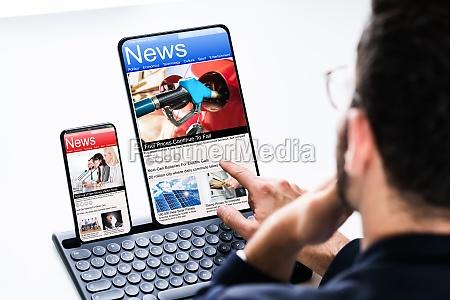 lesen sie online news medien auf