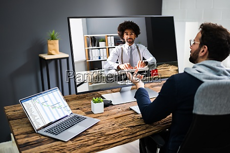 video konferenz business webinar call