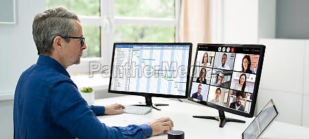 business video konferenzanruf funktioniert