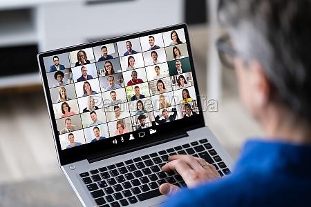 online business video konferenz