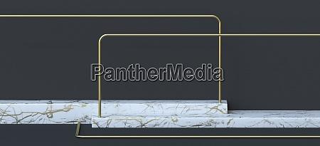 abstrakte hintergrund horizontale weisse marmor sockel
