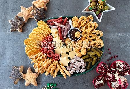 herzhafte snacks fuer die feiertage