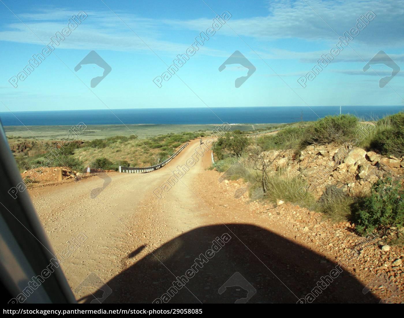 straße, in, der, australischen, wüste - 29058085