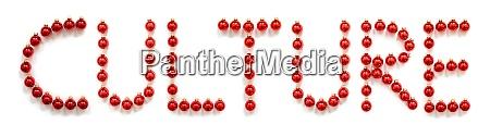 rote, weihnachten, ball, ornament, gebäude, wort - 29064496